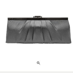Jessica McClintock Women's Satin Pleated Clutch